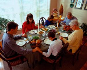 image Thanksgiving dinner