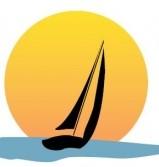 sailing into sunset